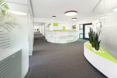 Beleuchtungskonzept von Elektro Schiller für Alpex Technologies