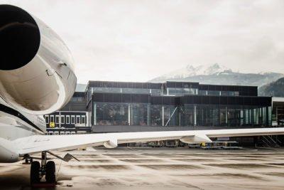 Gut betreut von Elekro Schiller – der Innsbrucker Flughafen