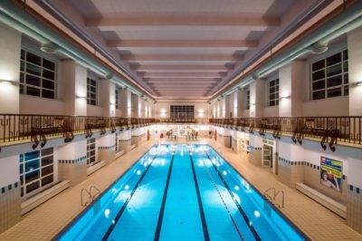 Elektroinstallationen von Elektro Schiller im Schwimmbad Amras