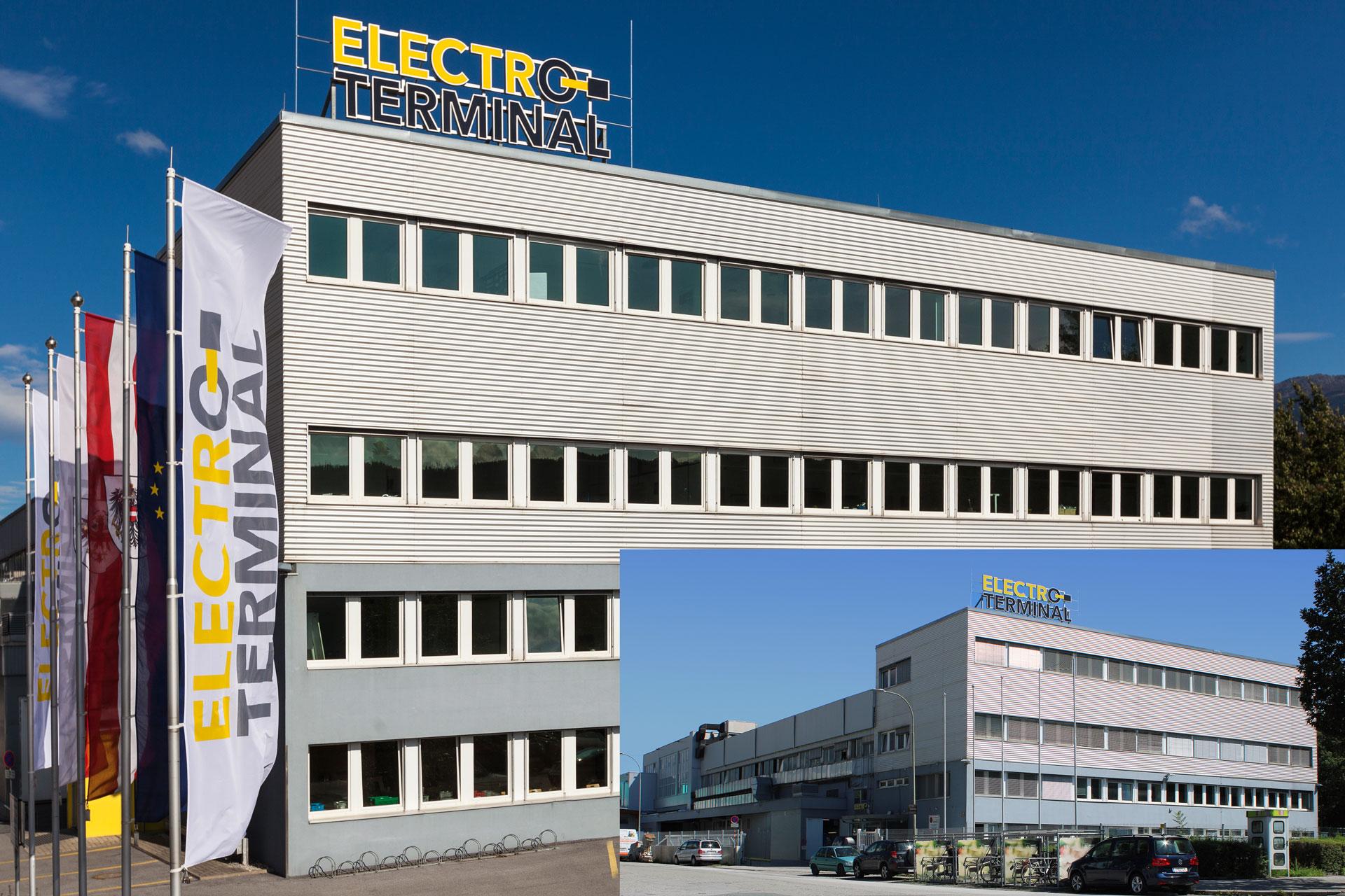 Um- und Zubau Lager und Produktion Electro Terminal